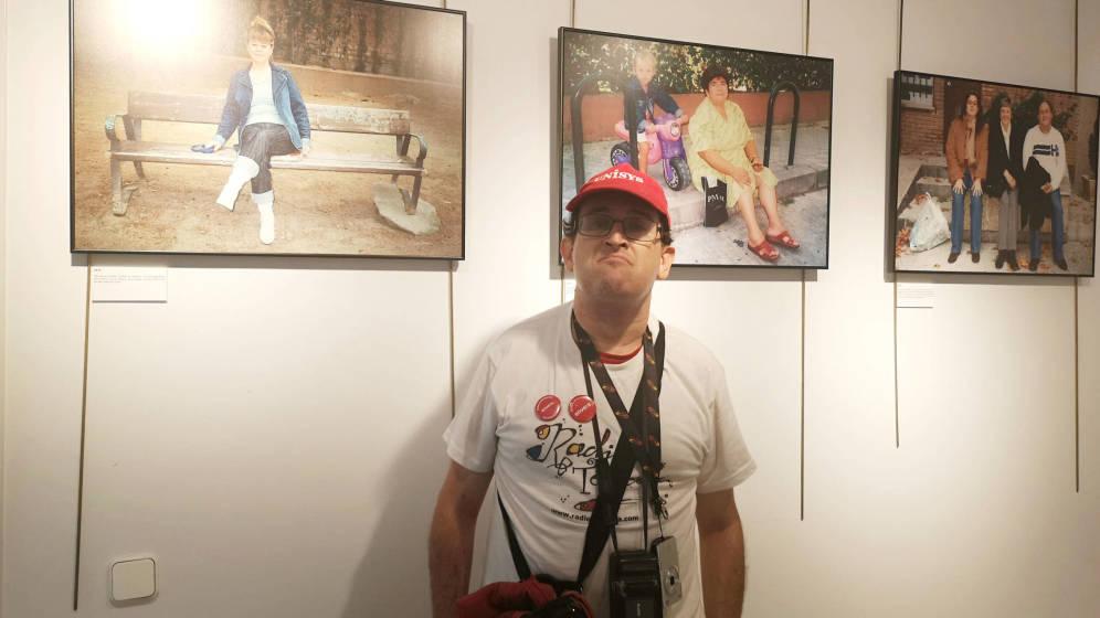 La mirada de Michael, la primera persona con discapacidad que expone en PHotoEspaña