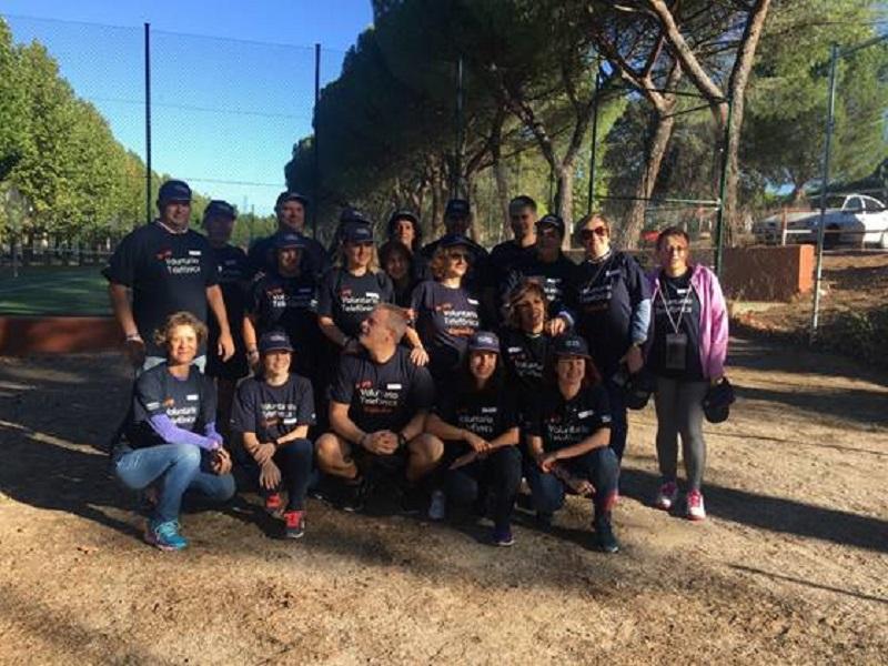 La Fundación Deporte & Desafío y Fundación Telefónica fomentan el voluntariado con personas con discapacidad