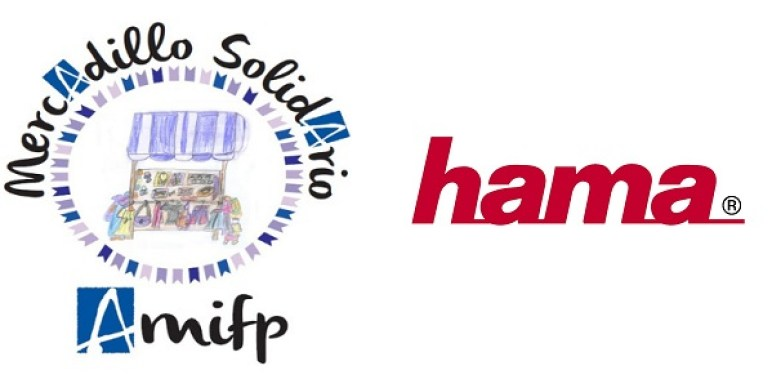 Hama reafirma su compromiso social estas navidades con el mercadillo solidario de AMIFP