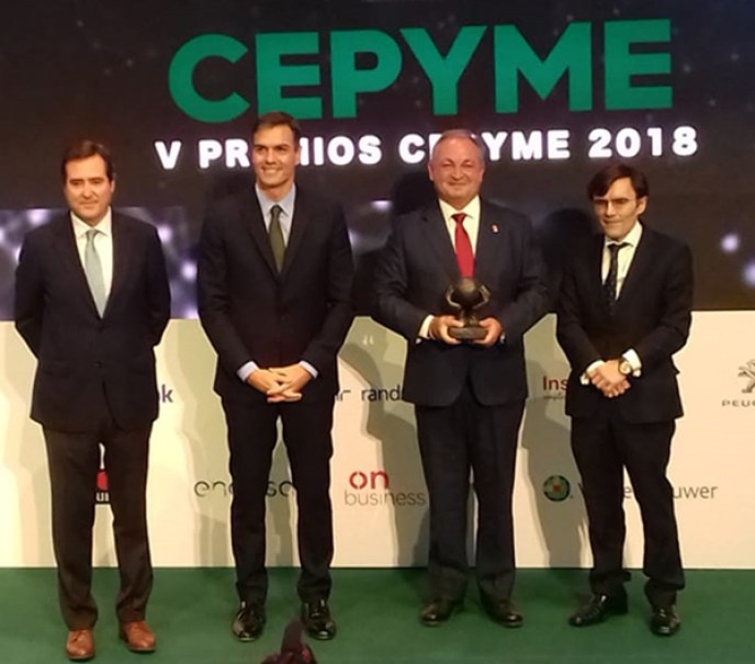 Walkerpack premiado por Cepyme como ejemplo de integración laboral