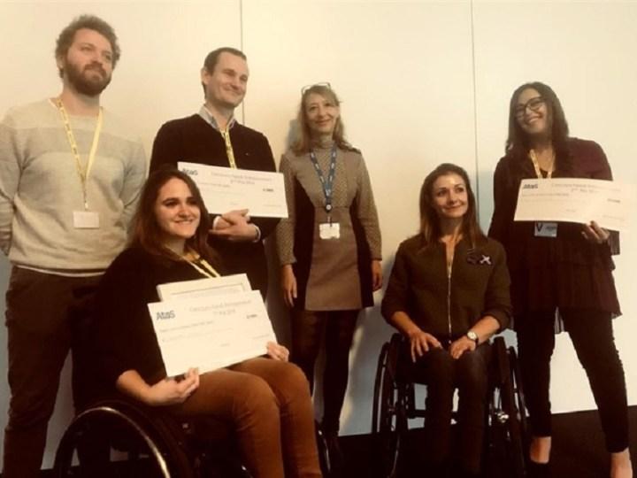 Atos premia cuatro proyectos de emprendedores con discapacidad