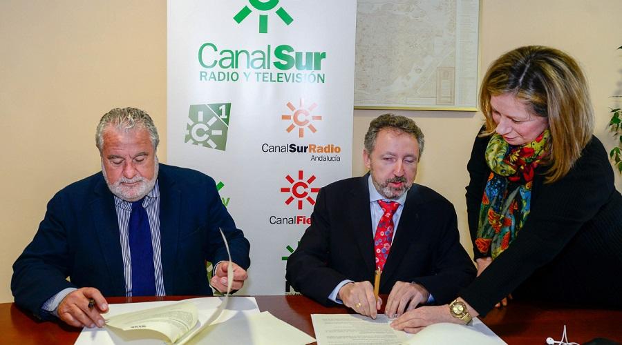 CSRTV y la ONCE colaborarán para la integración social de las personas con discapacidad visual