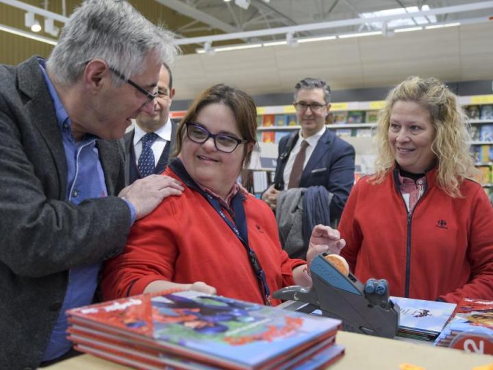 Carrefour obtiene el Premio Reina Letizia de Inserción Laboral de Personas con Discapacidad