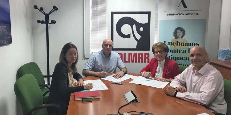 Kalmar y Fundación Adecco colaboran con Asansull por la discapacidad