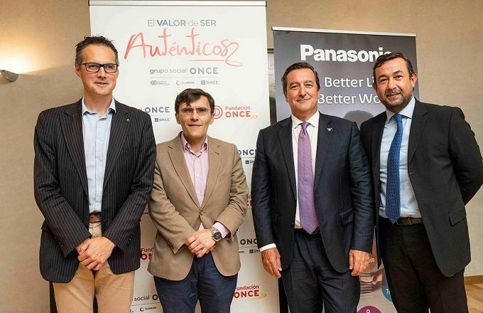 Panasonic Iberia y Fundación ONCE