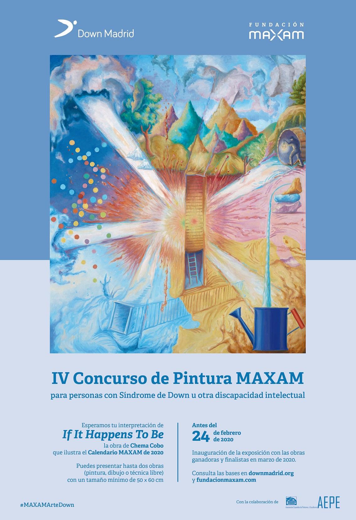 Concurso de Pintura MAXAM para personas con discapacidad intelectual'.