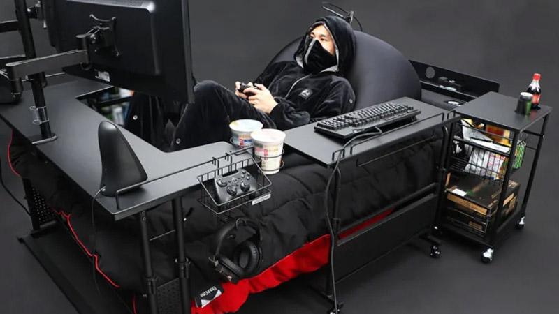 Bauhütte lanza el «escritorio de tus sueños»: una cama gaming