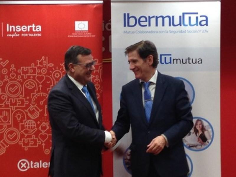Ibermutua y Fundación ONCE se unen para fomentar el empleo de personas con discapacidad