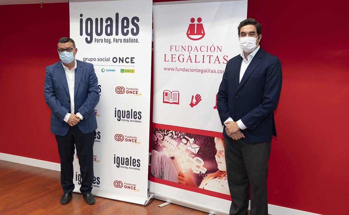 Fundación ONCE y Fundación Legálitas refuerzan su alianza en favor de las personas con discapacidad