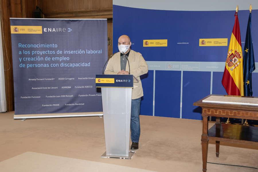 ENAIRE obtiene el premio cermi.es 2020 por su estrategia de inclusión laboral de personas con discapacidad