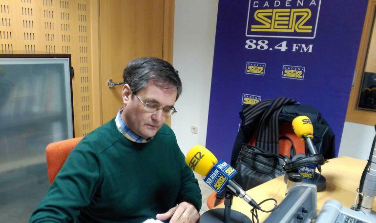 Luís Miguel Román Alhambra, Pte. de la Sociedad Cervantina del lugar de Don Quijote