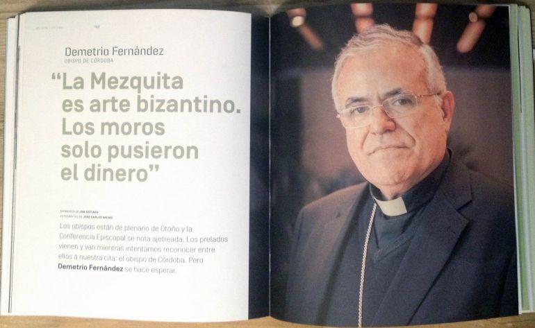 """Entrevista a Demetrio Fernández en la revista """"17..."""""""