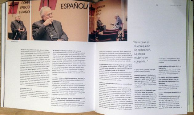 "Fragmento de la entrevista de Jon Sistiaga a Demetrio Fernández para la revista ""17..."""
