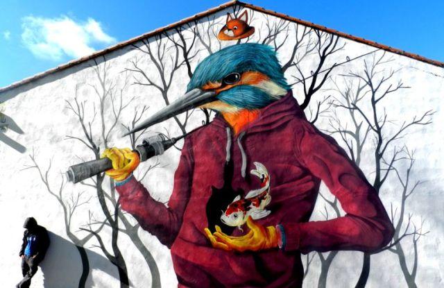 El Provencio: capital del cómic y del arte urbano | ser_cuenca | Hoy por Hoy Cuenca | Cadena SER