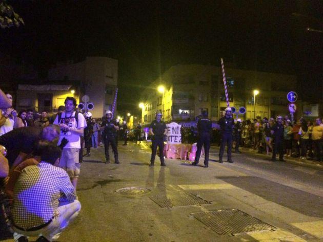 Graves incidentes, heridos y detenciones en la tercera concentración Pro-Soterramiento