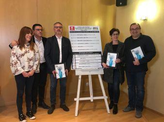 Imagen de los representantes de las bandas seleccionadas en el sorteo para participar en el XXXIII Certamen de Música Festera de Elda