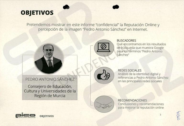 FOTOGALERÍA   Informe de la reputación online y la percepción de la imagen de Pedro Antonio Sánchez diseñado por la trama Púnica