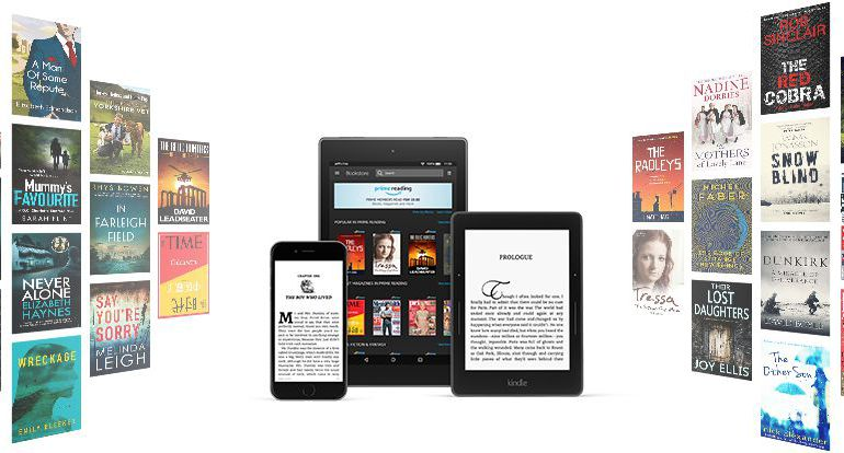 Libros autopublicados en Amazon