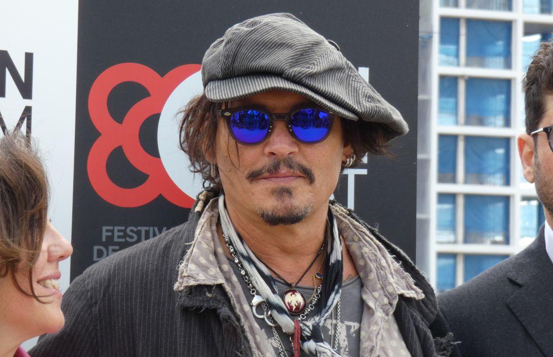 Actor Johnny Depp en la presentación de 'The Minamata Photographer'.