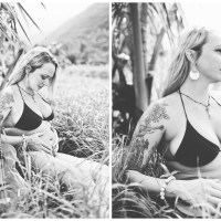 danielle { hana, hawaii } maternity photography Maui