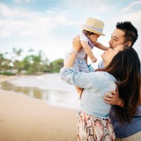 annie + family // maui family photo session