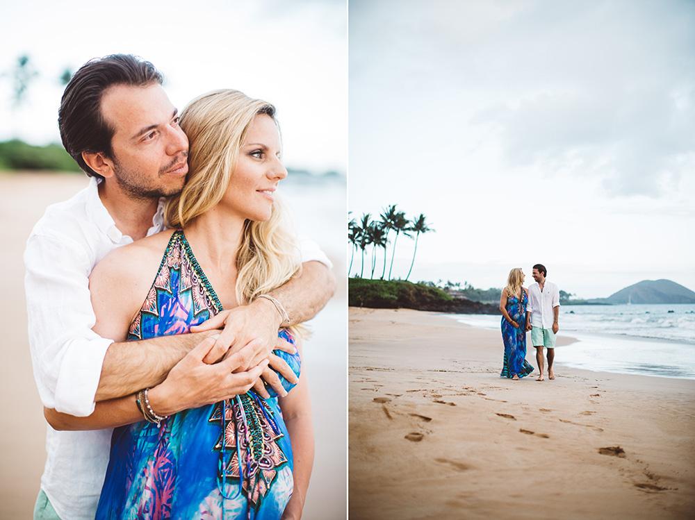 beautiful Maui maternity photography
