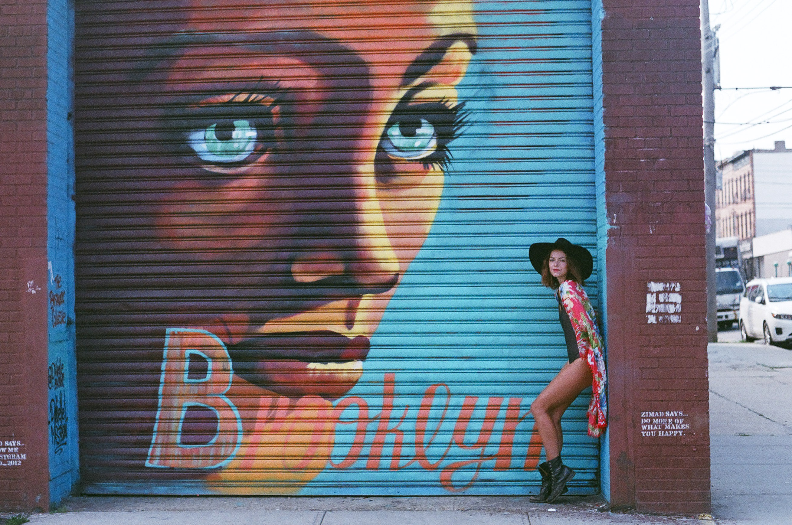 street art by Danielle Mastrion in bushwick photographed by cadencia photography.