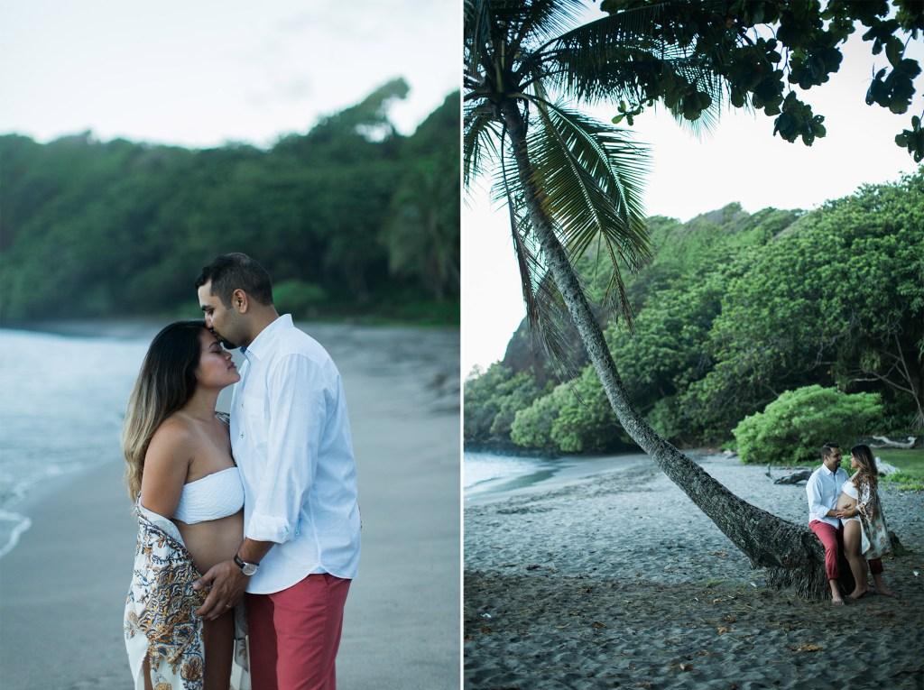 creative and beautiful hawaii maternity photography in Hana, Maui.