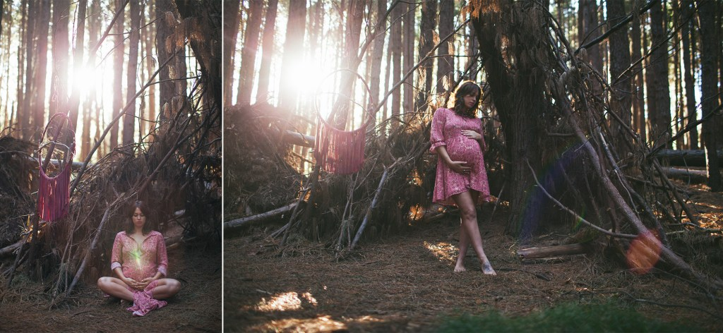 beautiful boho upcountry photo shoot in maui, hawaii for maternity photography.