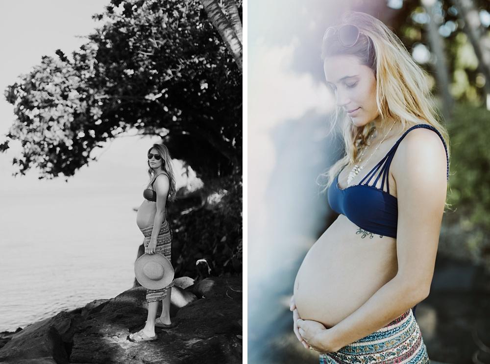 pukka perri maternity photos Maui.