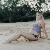maui maternity photography | baby beach baldwin
