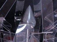 Quase Negro de Mem-Martins e acrílico 61 x 44 x 54 cm 2013