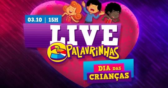 live 3 palavrinhas