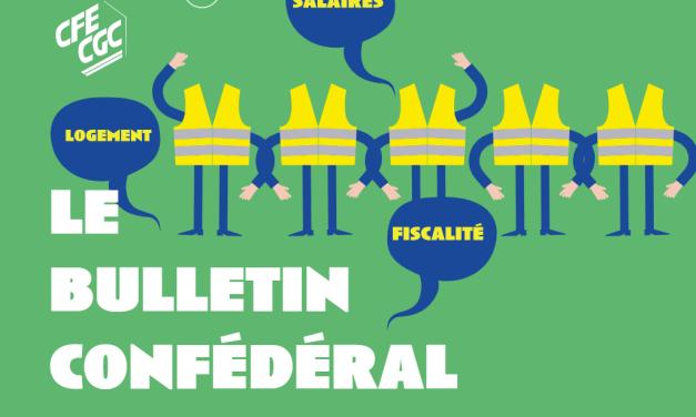Le bulletin confédéral n°59 de la CFE-CGC
