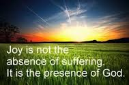 joy in presence of God