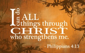 I can through Christ