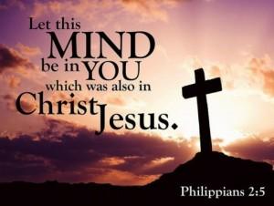 Selflessness mind of Jesus