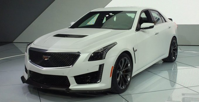 2019 Cadillac CTS-V Coupe Exterior