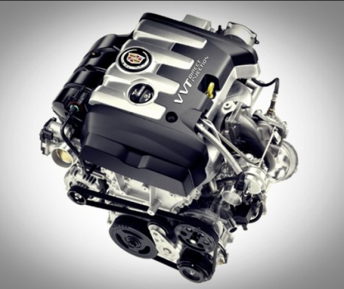 2019 Cadillac XT4 Engine