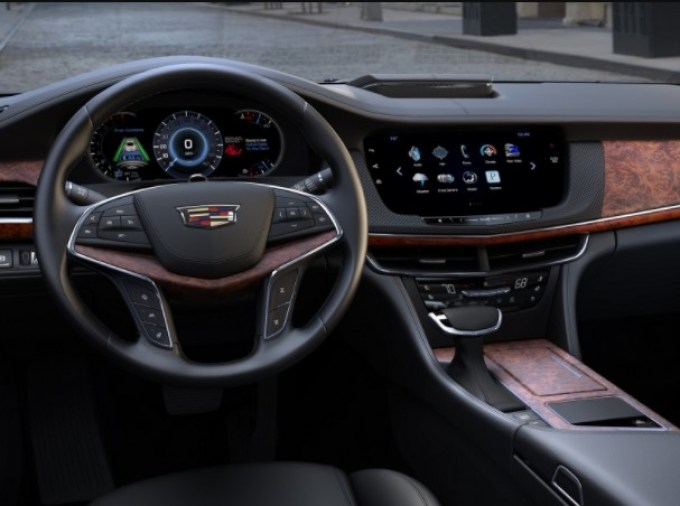 2020 Cadillac CT6 Interior