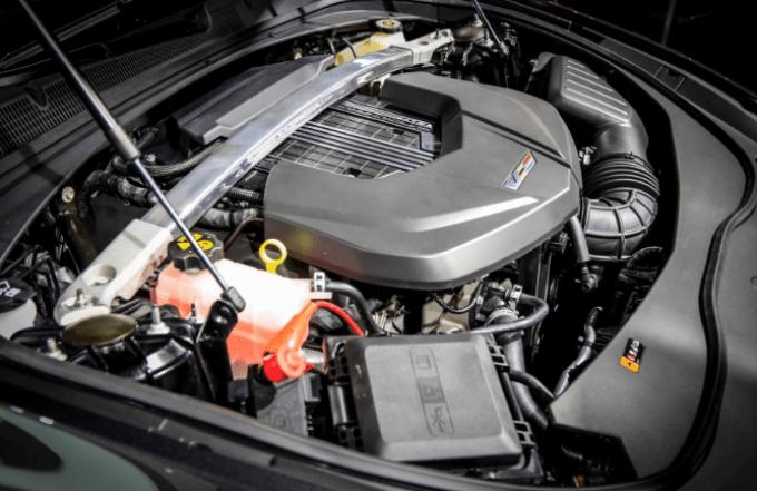 2020 CTS V Engine
