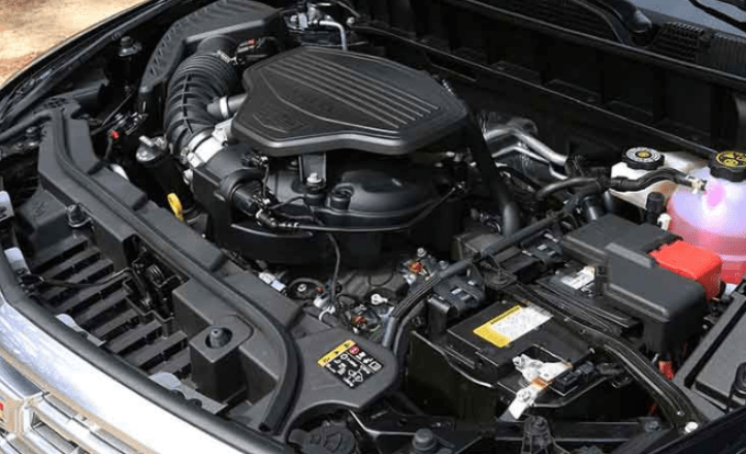 2019 Cadillac XT5 Engine