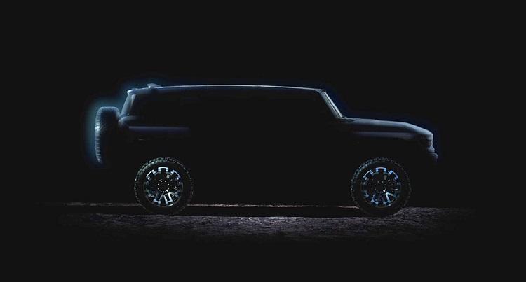 2024 GMC Hummer EV SUV electric