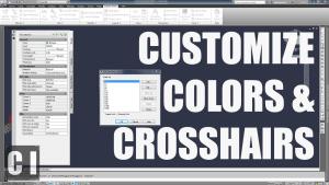 autocad crosshair size
