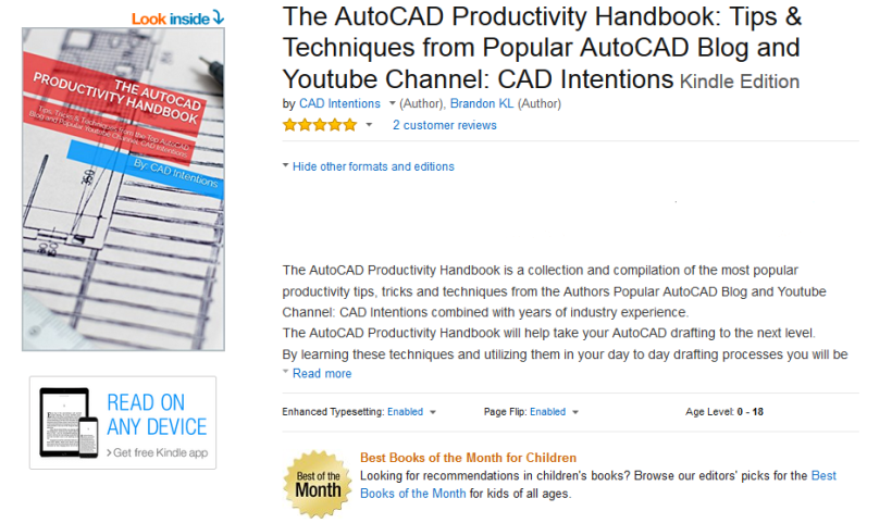 Being More Productive: The AutoCAD Productivity Handbook