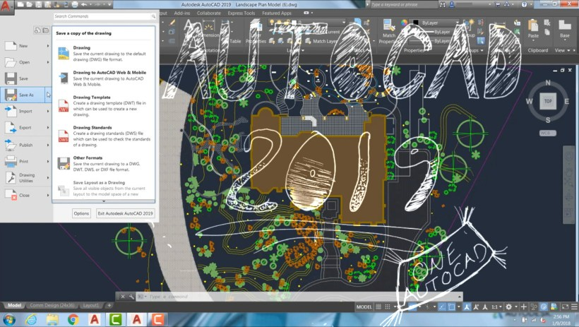 AutoCAD 2019 - New Features, 4K and One AutoCAD | CAD Intentions