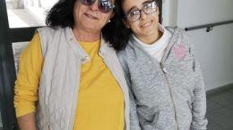 Josefa Mendoza y su hija Laura