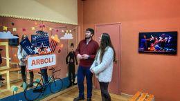 Gonzalo Oliver y Mercedes Díaz en elCentro de Artes Escénicas Arbolí
