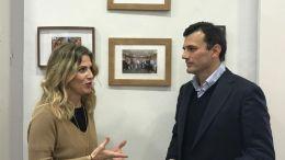 Ana Mestre y Bruno García