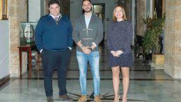 Juan Manuel Rodríguez Domínguez, Mario Fernández y Ana Carrera